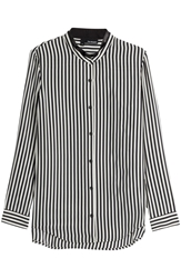 The Kooples Striped Silk Shirt