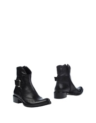 Now Ankle Boots Black