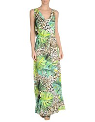 Blumarine Beachwear Cover Ups Green