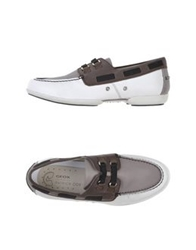 Geox Designed By Patrick Cox Moccasins White