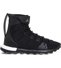 Adidas Y3 Y 3 Trail X Neoprene Trainers Black White