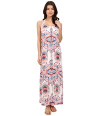 Red Carter Dream Catcher Maxi Dress Cover Up White Women's Swimwear