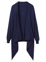 Joules Eriesta Longline Waterfall Cardigan French Navy