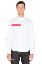 Black Scale Ulai Button Down Whiten