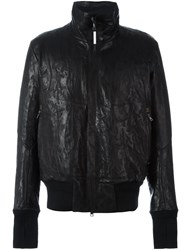 Isaac Sellam Experience Wide Collar Jacket Black