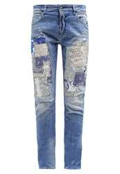 Replay Gracelly Relaxed Fit Jeans Lightblue Denim Light Blue