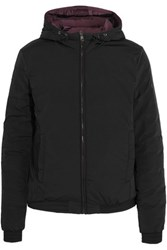 Cavalleria Toscana Meoni Hooded Reversible Shell Jacket Black