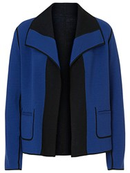 Betty Barclay Reversible Knitted Jacket Blue Black