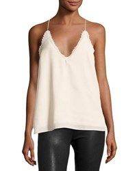Lucca Couture Renee Lace Trimmed Cami Light Pink