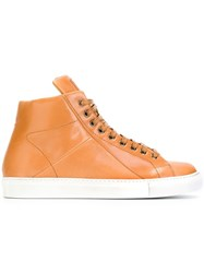 Mr. Hare 'Jack Johnson' Hi Top Sneakers Nude And Neutrals