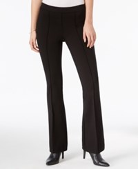 Bar Iii Pull On Flared Pants Only At Macy's Deep Black