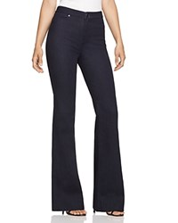 Elie Tahari Joyce Flare Jeans In Dark Night Dark Night Wash