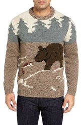 Woolrich Men's Outdoor Motif Sweater
