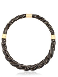Aurelie Bidermann Diana Black Necklace