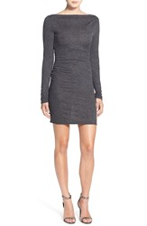 Sam Edelman 'Ryder' Body Con Dress Heather Grey