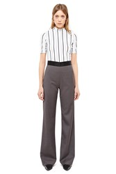 Opening Ceremony Focal Wide Leg Pants Ash Grey