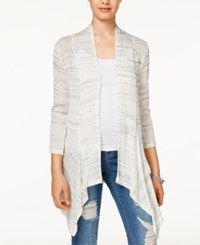 American Rag Lace Back Space Dyed Cardigan Only At Macy's Oatmeal