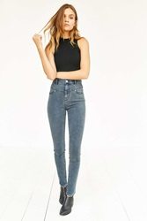Bdg High Rise Seamed Jean Ghost Indigo