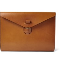 Tarnsjo Garveri Icon Leather Macbook Pouch Brown