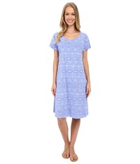 Fresh Produce Tribal Sadie Dress Periwinkle Women's Dress Blue