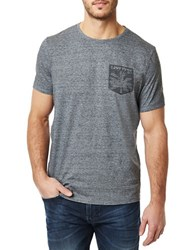 Buffalo David Bitton Short Sleeve Graphic Print T Shirt Grey