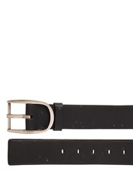 Givenchy Destroyed Leather Belt
