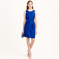 J.Crew Louisa Shift Dress In Slub Silk