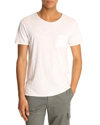 Menlook Label Simon White T Shirt