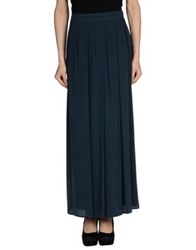 Space Style Concept Long Skirts Deep Jade