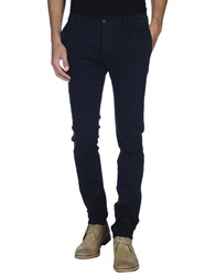 Grey Daniele Alessandrini Casual Pants Dark Blue
