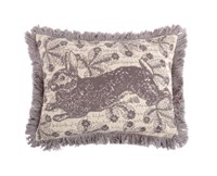 Thomas Paul Thomaspaul Bunny Embroidered Pillow