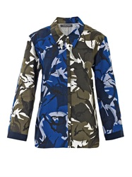Joe Richards Camo Print Cotton Shirt