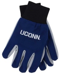 Forever Collectibles Connecticut Huskies Palm Gloves