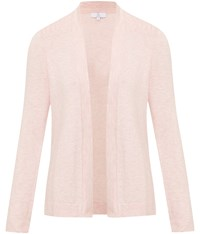Cc Edge To Edge Pleat Detail Cardigan Pale Pink