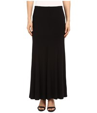 Karen Kane Flare Maxi Skirt Black Women's Skirt