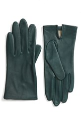 Fownes Brothers Women's Short Leather Gloves Peridot