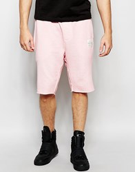 Religion Oil Wash Jersey Shorts Pink