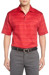 Bobby Jones Men's 'Helix' Jacquard Stripe Jersey Polo