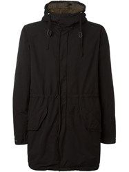 Aspesi Hooded Parka Black