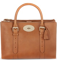 Mulberry Bayswater Double Zip Tote Oak