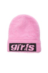 Alexander Wang Graphic Beanie In Pink