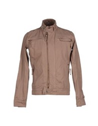 Yes Zee By Essenza Jackets Light Brown
