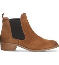 Office Corsa Suede Chelsea Boots Tan Suede