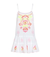 Juliet Dunn Embroidered Cami Dress Female Multi