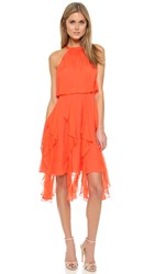 Shoshanna Tessa Dress Coral