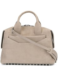 Alexander Wang 'Rogue' Satchel Nude And Neutrals