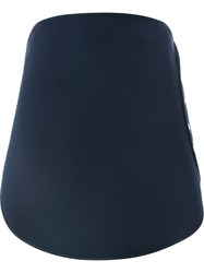 Courra Ges Buttoned Skirt Blue