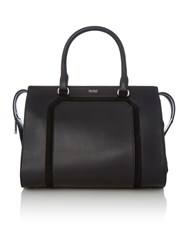 Hugo Boss Fania Black Medium Tote Bag Black
