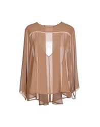 Giorgia And Johns Blouses Camel