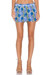 Equipment Landis Viper Print Short Blue
